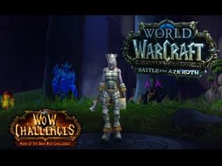 World of Warcraft Ironman Challenge Hardcore Mode Enhancement Shaman Draenei (RU) #8 39-42 lvl