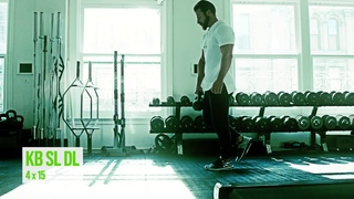 The Killer Kettlebell Workout: Spring Trim Up Day 1