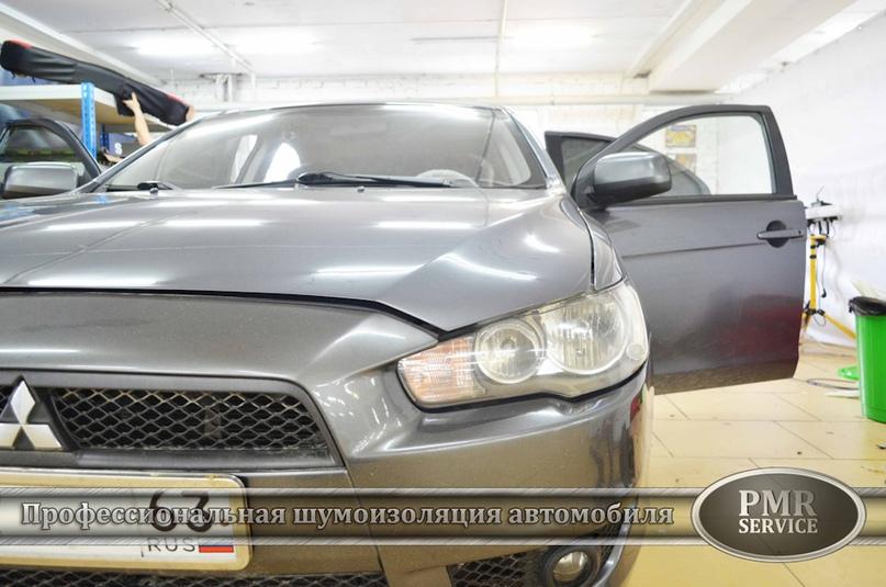 Шумоизоляция Mitsubishi Lancer, изображение №2