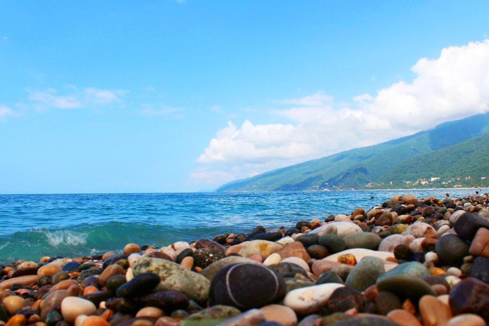 картинки сочи море горы совместная