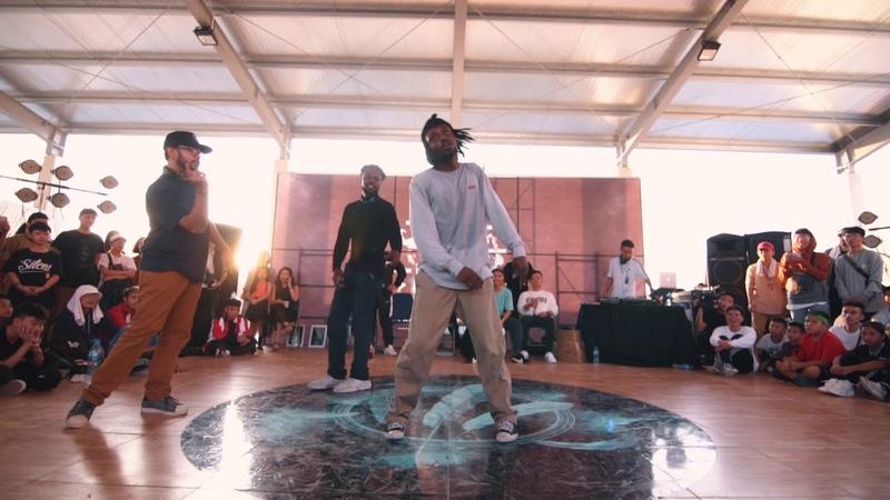 [Free Spirit Festival 2019 SEA Qualifier] JUDGE DEMO : Franky Dee, Aldo, P-Dog (Germany)   Danceproject.info