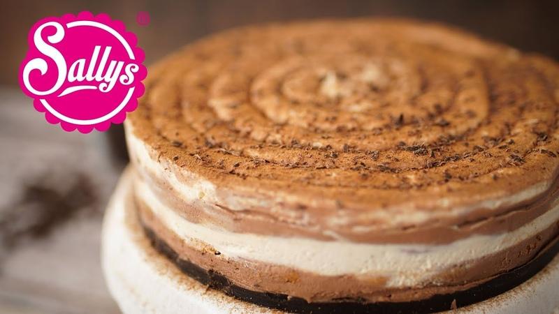 Cappuccino Schokoladenkuchen ohne Backen No Bake Cappuccino Chocolate Cheesecake