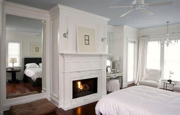 Камин в спальне., изображение №7
