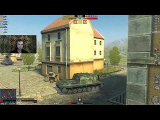 НареЗка С СтриМа.Забавные моменты.1 выпуск. World Of Tanks Blitz!