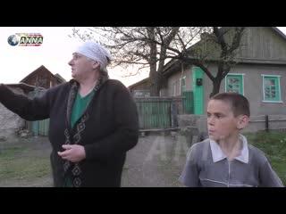 ВСУ бьют запрещенными снарядами по н.п. Калиново.