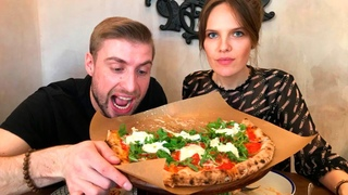 Битва пиццерий! Кто быстрее приготовит пиццу? Шеф-повар из Италии