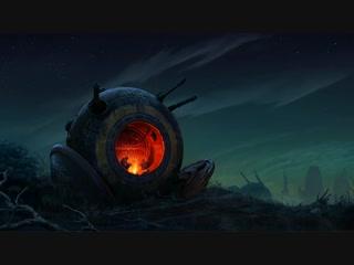 Post apocalyptic fireplace (kiiyoshi)