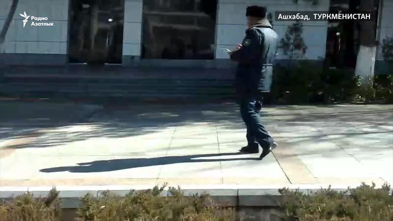 Ашхабадская полиция отбирает у женщин водительские удостоверения