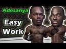 Israel Adesanya makes quick work of Derek Brunson TKO win at UFC 230