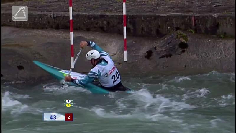 Luka BOZIC. 2019 ICF Canoe Slalom Ranking Race ECA European Open Cup - Tacen (SLO) – Final