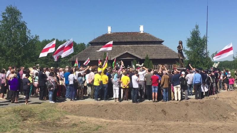 Помнік Касцюшку Памятник Костюшко открытие Коссово 12 мая 2018