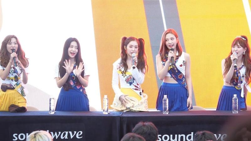 4K 180818 Red Velvet 레드벨벳 Summer Magic Power Up 미니앨범 팬사인회 오프닝 스타필드 고양 직캠 Fancam by PIE