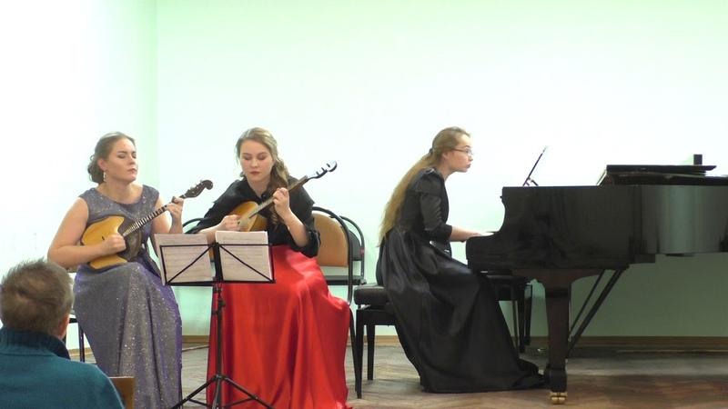 Брух 8 пьес для кларнета и альта Ноктюрн - Анастасия Селиверстова, Анастасия Вагина, Анна Гачина