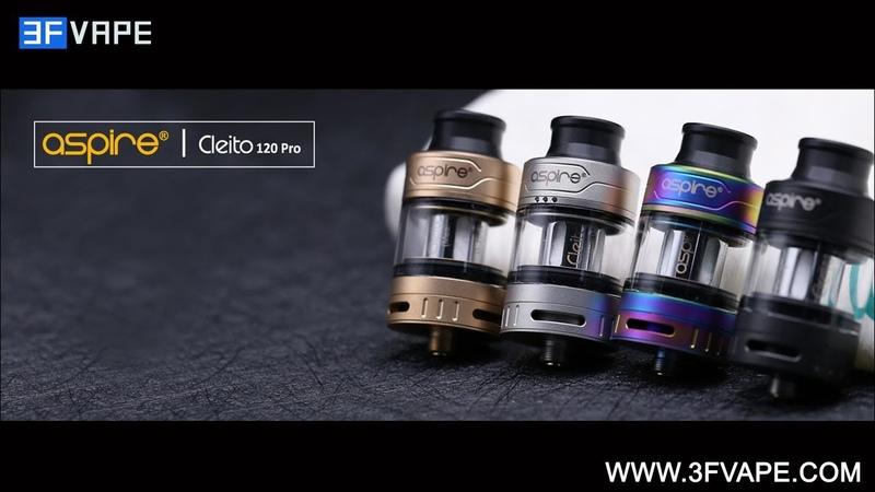 Aspire Cleito 120 Pro Sub Ohm Tank