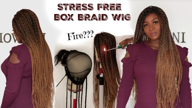 HOW TO DO D I Y WAIST LENGHT BOX BRAID WIG OGC