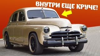 Идеальное восстановление. Обзор ГАЗ М20 Победа. Реставрация и тюнинг