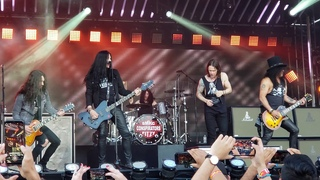 """""""Call of the Wild"""" Slash ft. Myles Kennedy n the Conspirators NEW SONG on Jimmy Kimmel LIVE! 9/12/18"""
