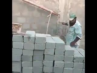 Может так и строили пирамиды