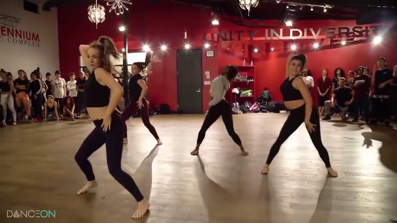 Maddie Ziegler, Kendall Vertes, Kalani Hilliker Camryn Bridges Dancing to Touch