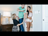 TeamSkeet Amber Chase  Claire Black - Cunty Competition New Porn 2019
