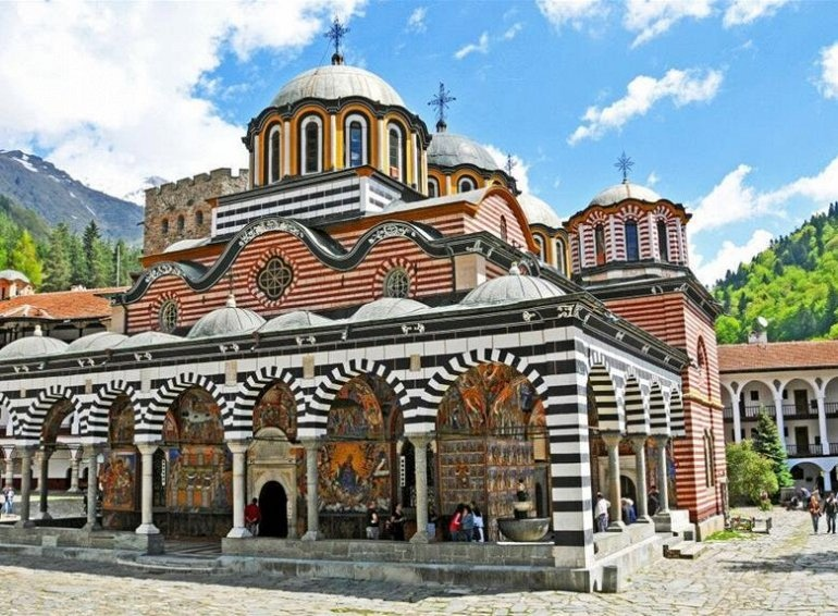 Рильский Монастырь в Болгарии, изображение №2