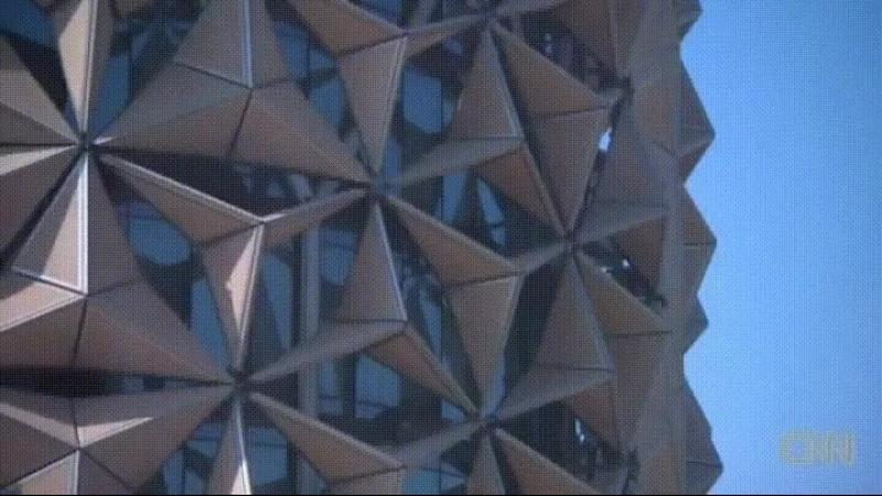 Потрясные окна оригами