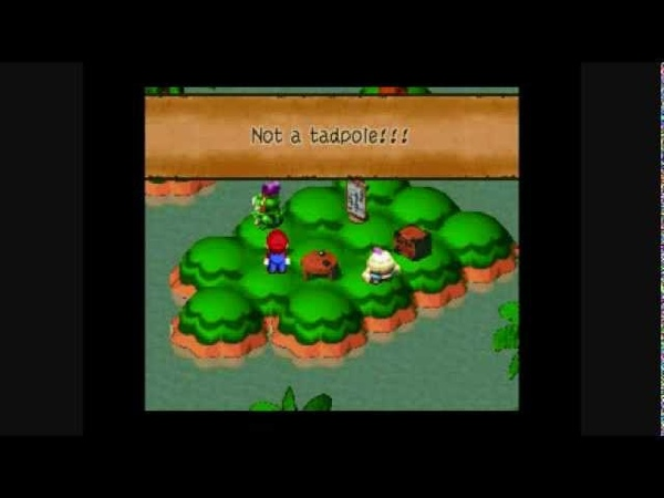 Super Mario RPG: Legend of the Seven Stars - Mallow is not a Tadpole