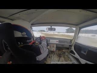 Ралли-спринт Снежныи Вихрь АСК Арамиль Заезд 1