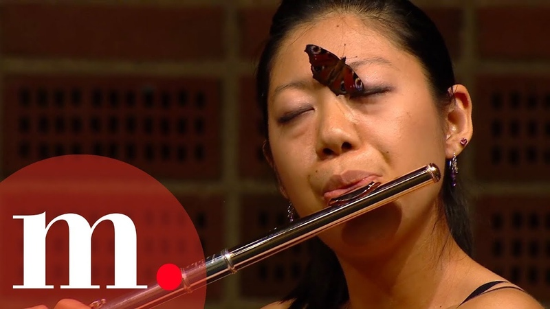 You wont believe what happened when a butterfly came on stage at a flute recital! 🦋