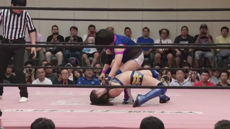 Hikari Noa vs Mirai Maiumi TJPW Tokyo Joshi 2019 Summer ~ Sunshine Carnival ~