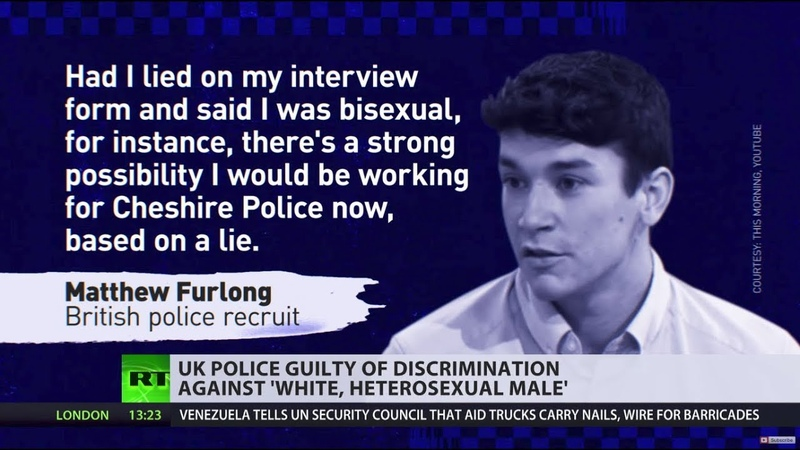 UK police found guilty of discrimination after rejecting white heterosexual applicant