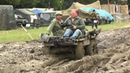US Military Mechanical Mule M274 in the Mud at War Peace Show 2012
