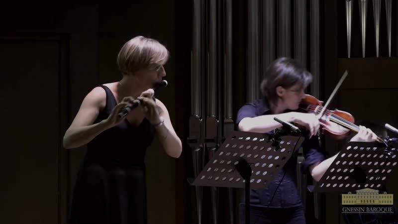 1079 J S Bach Musikalisches Opfer BWV 1079 Sonata sopr' il soggetto Reale Largo Gnessin Baroque