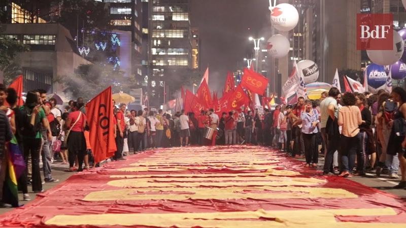 Como foi a Greve Geral: 50 mil trabalhadores e estudantes em SP contra reforma da Previdência
