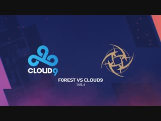 Highlights: f0rest vs cloud9 | blast pro series: lisbon 2018