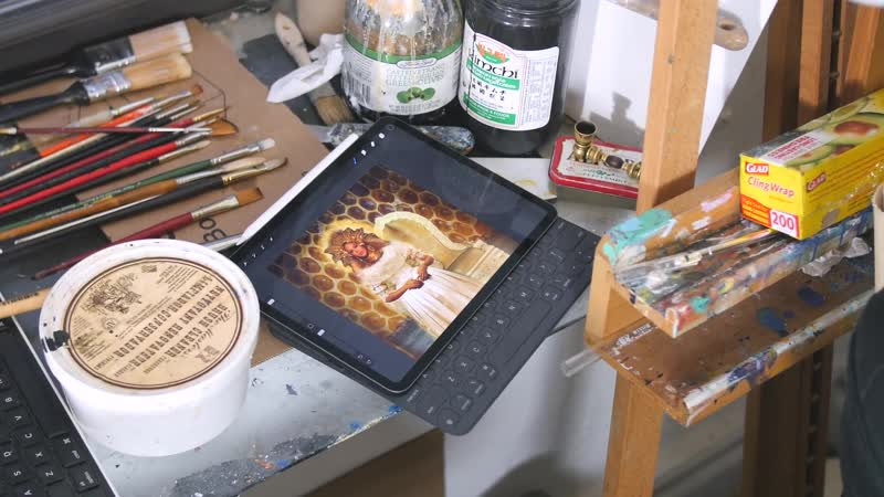 IPad Pro 12.9 - Traditional Artists Review NYC Edition!