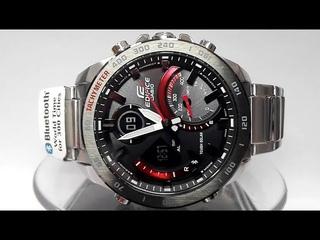 Casio Edifice ECB-900DB-1 Bluetooth Solar powered watch module 5582 2019