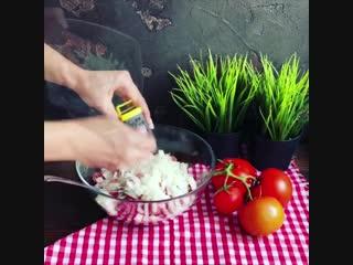 Оригинальные вкусные картофельные бомбочки -  (Рецепт под видео)