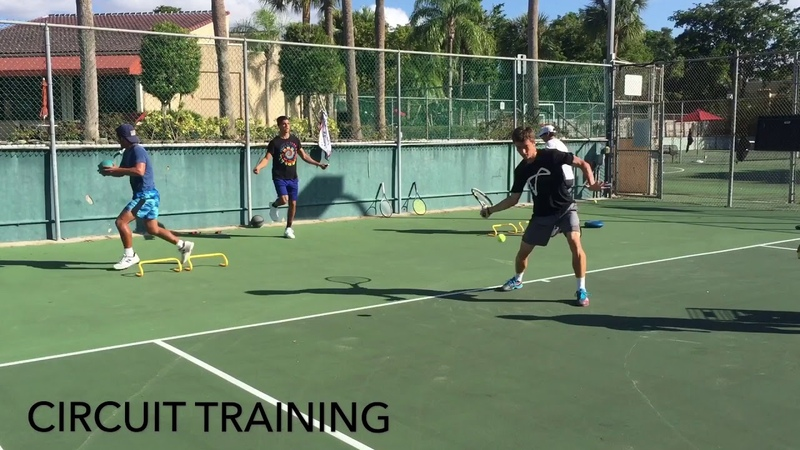 High performance tennis drills for all ages with coach Brian Dabul