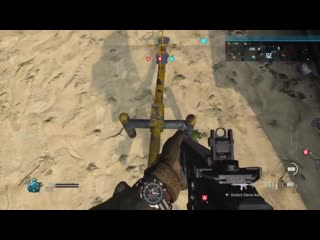 Seesaw doesn't move when you stand on it. modern warfare