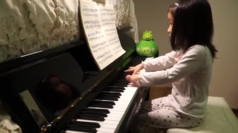 Encore Chen Age 5 J S Bach Two Part Invention in B Minor BWV 786 no 15
