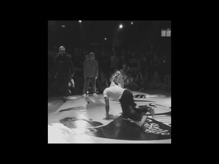 B boy Victor Squadron crew, MF Kidz and the Red Bull BC One All Stars 2018