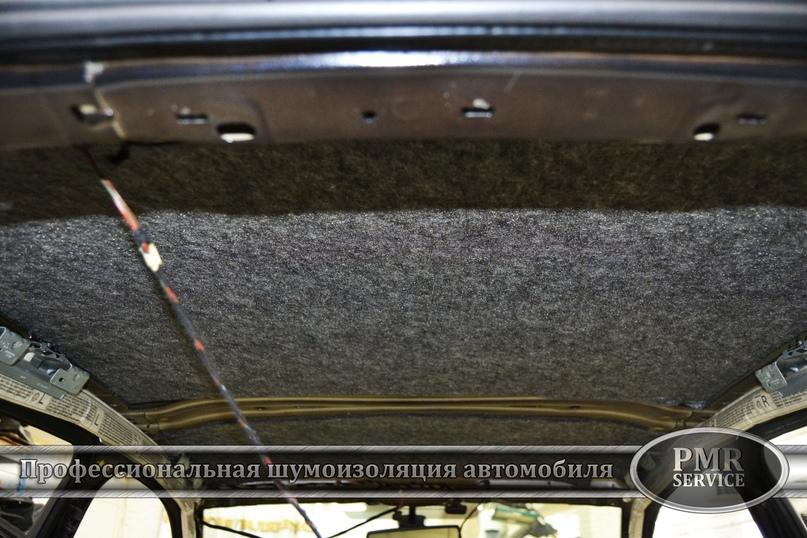 Комплексная шумоизоляция Skoda Octavia A5, изображение №7
