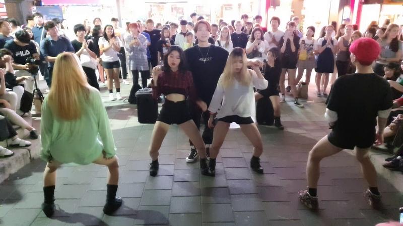 레드크루(RED CREW)/ KILL BILL-브라운아이드걸스(Brown Eyed Girls) 20190823 홍대(Hongdae) 버스킹(Busking)