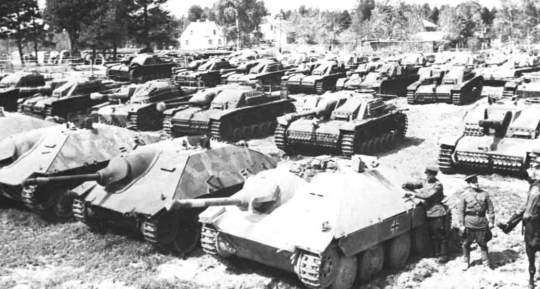 Самоходки Третьего рейха