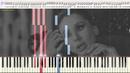 В зоне риска LOBODA Ноты и Видеоурок для фортепиано piano cover