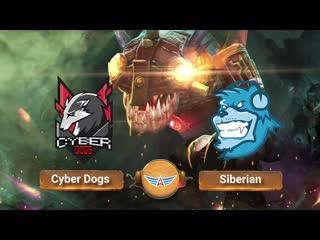 Cyber Dogs vs Siberia eSports