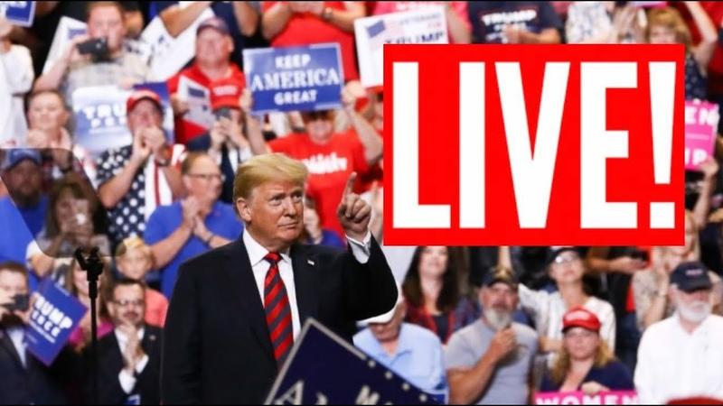 🔴 LIVE President Donald Trump MASSIVE Rally in Fayetteville North Carolina