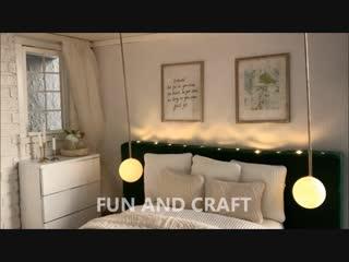 DIY miniature BEDROOM for dolls