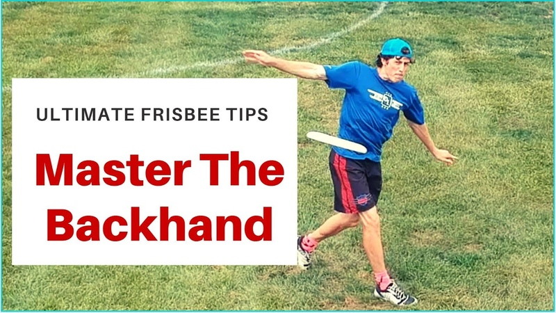 How to Throw a Backhand in Ultimate Frisbee